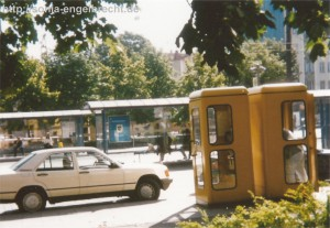 Telefonzellen Stiglmaierplatz 1995